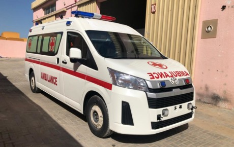 TOYOTA HIACE ADVANCED AMBULANCE